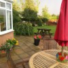 Before shot of patio area Crowle